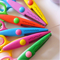 DIY Plastic Decorative Craft Enfant School Scissors for Paper Cutter Scrapbooking  Office & School Cutting Supplies WJ0200