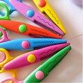 Diy пластиковые декоративные ремесло Enfant школа ножницы для бумаги резак скрапбукинг офиса и школы режущие материалы WJ0200