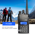 Hot selling  PUXING walkie talkie PX-888K dual band dual display VHF136-174&UHF400-480Mhz two way radio PX888K Walkie Talkie