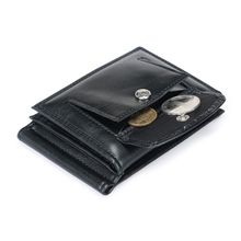 купить Men's Leather Bifold Wallet Coin Purse ID Credit Card Holder Short Money Clip дешево