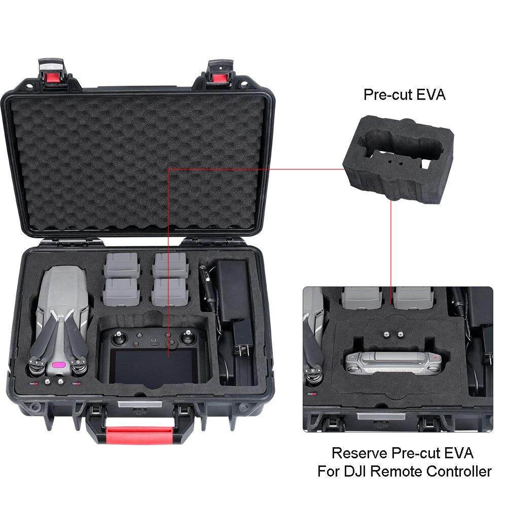 Smatree Impermeabile Custodia per il trasporto per DJI Mavic 2 Pro/DJI Mavic 2 Zoom Volare Più Combo, per DJI Controller Smart - 4