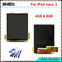 Sinbeda High Quality LCD Screen Replacement For IPod Nano 3 3th Gen 4GB 8GB LCD Display