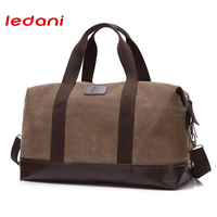 LEDANI New Travel Bag Large Capacity Men Hand Luggage Travel Duffle Bags Multifunctional Travel Bag Nylon