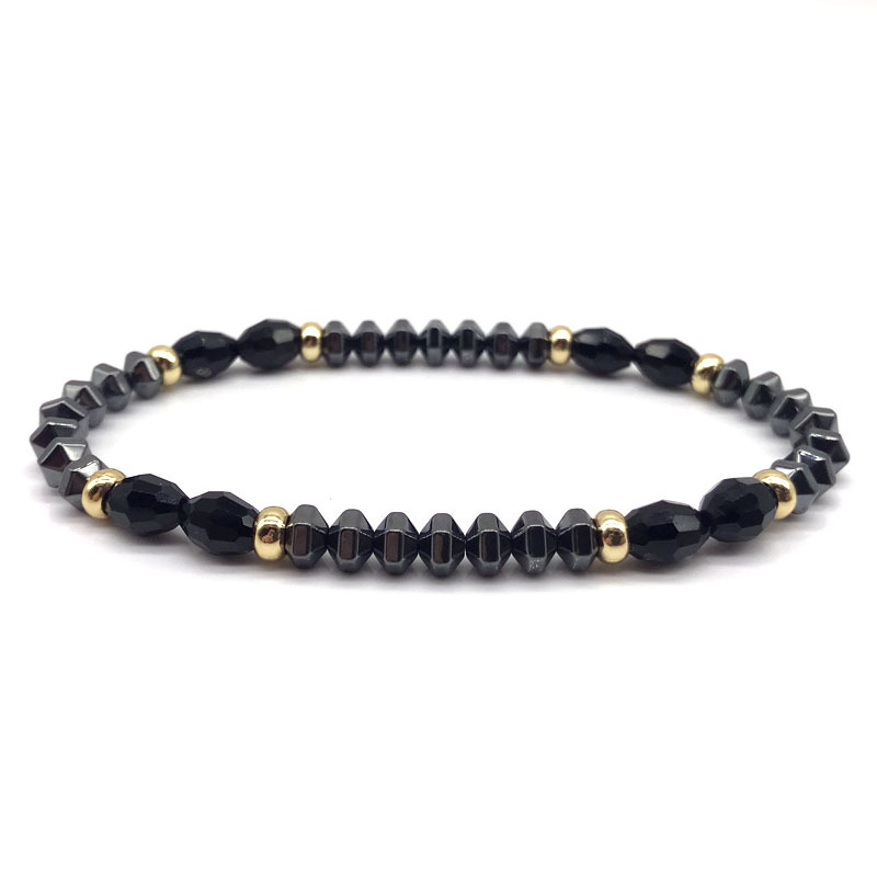 2018 Fashion Mens Beads Bracelets Simple Classic Stone Beaded Charm Bracelets For Men Jewelry Gift