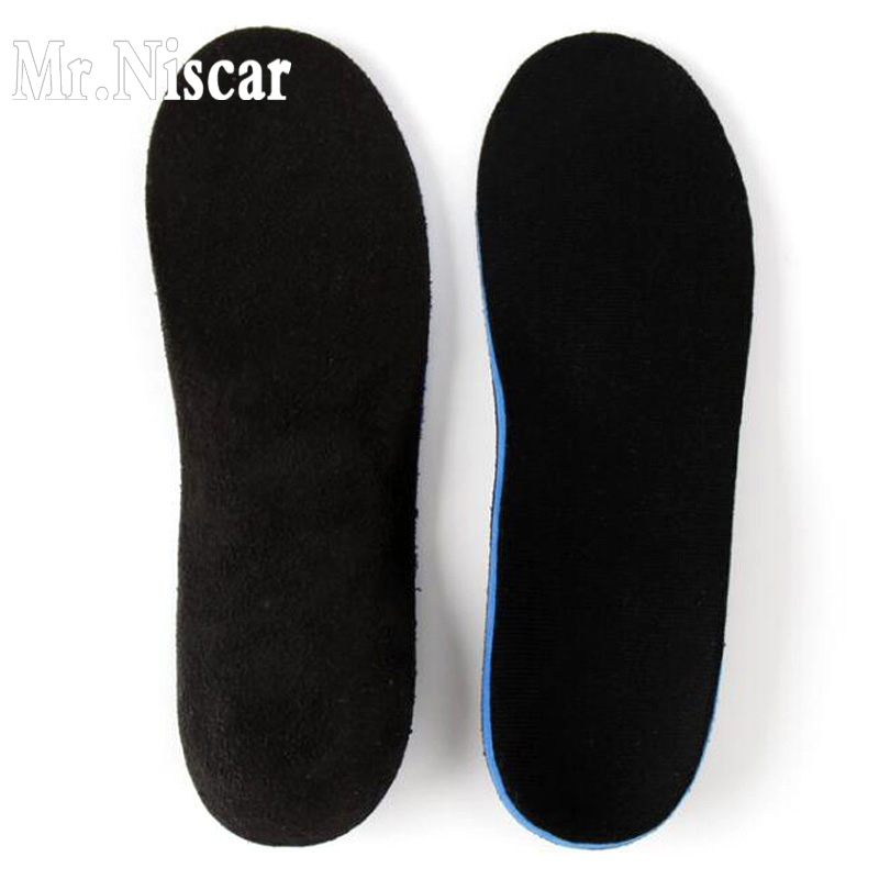 Mr.Niscar Unisex Anti-Slip EVA Soft Running Basketball Sport Shoe Insoles Men Women Orthotic Arch Support Massaging Sport Pads orthotic arch support massaging silicone anti slip gel soft men and woman sport shoe damping insoles shoes