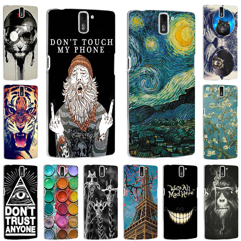 Silicone Case For Oneplus One Case a0001 Soft TPU Phone Case For One Plus One 1+1 Back Cover Coque Bumper Cool Fashion Painted
