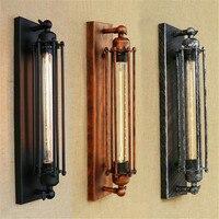 Vintage schwarz Rustikalen T300 edison-birne wand licht glühlampe enthalten wand lampen Metall lampenschirm treppen küche wand leuchte