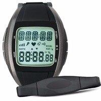 Multi-función inalámbrica del ritmo cardíaco Monitores Wireless correa del pecho del reloj correa de la aptitud caloría del deporte 240bpm