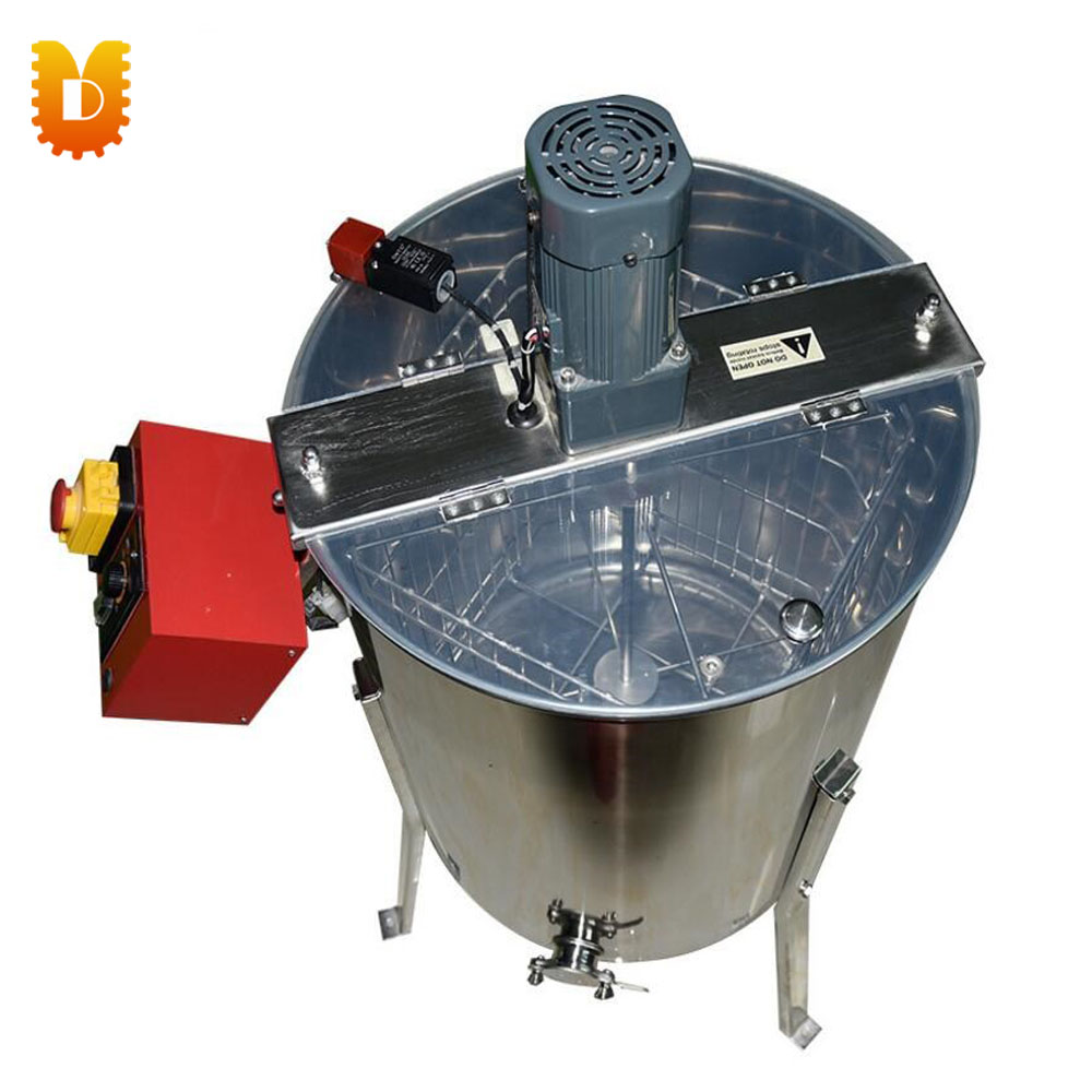 4 Frame Electric Stainless Steel Honey Extractor/Honey Centrifuge commercial automatic reversible 6 frames electric honey extractor