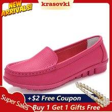 Krasovki Single Shoes Women Spring Autum Flat Bottom Fashion Soft Dropshipping Slip on Casual
