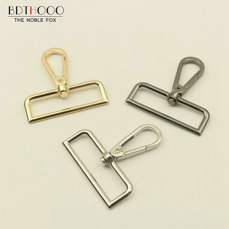 BDTHOOO 10PCS Metal Hook Buckle 2 Inch Claw Bag Lobster Swivel Clasp Trigger Clips Snap Buckle Hook Handbag Hardware Accessories 30pcs high quality 13mm top ending gold silver tone trigger diy snap hook clasp metal clip swivel dog leash