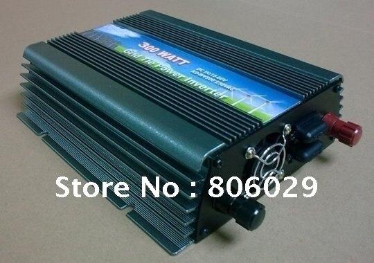 Grid Tie Inverter Wide Voltage Input 15-62VDC 300W Solar Wind Grid Tie Inverter Free Shipping