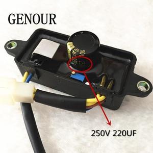 Image 4 - CQJY automatyczny Regulator napięcia dla Generator części zamiennych, CQJY AVR 2KW 2.5KW 2.8kw 220V Generator jednofazowy AVR wysokiej jakości