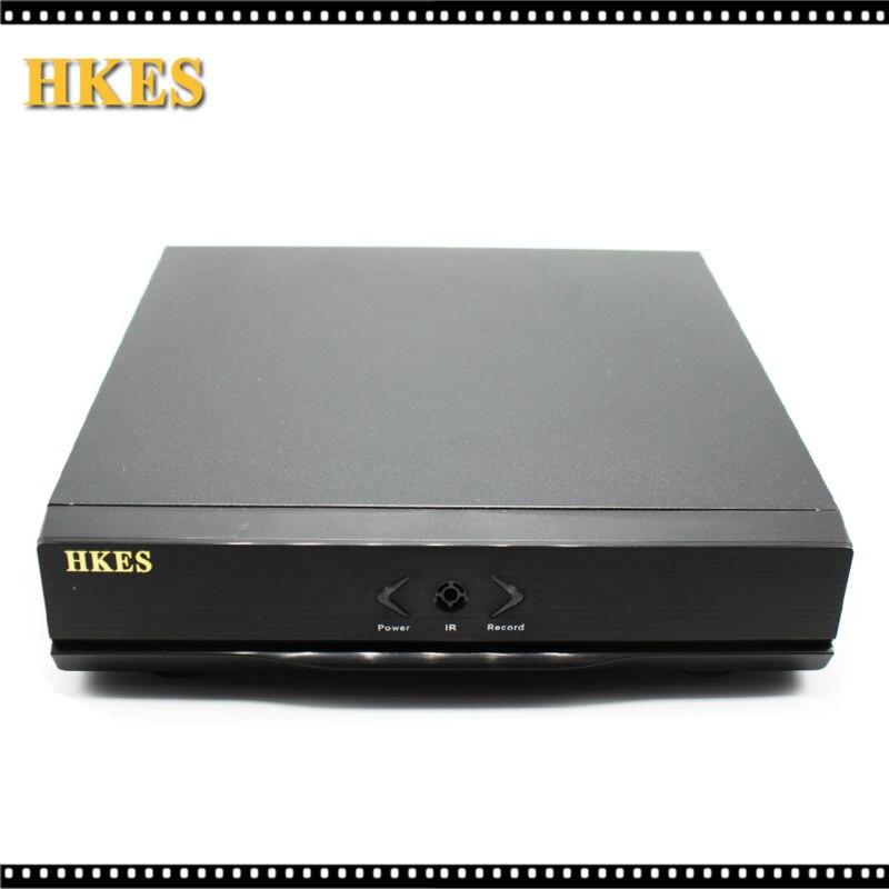 HKES HD Mini NVR 8CH H 264 HDMI VGA Video Output Support Onvif P2P Cloud Network