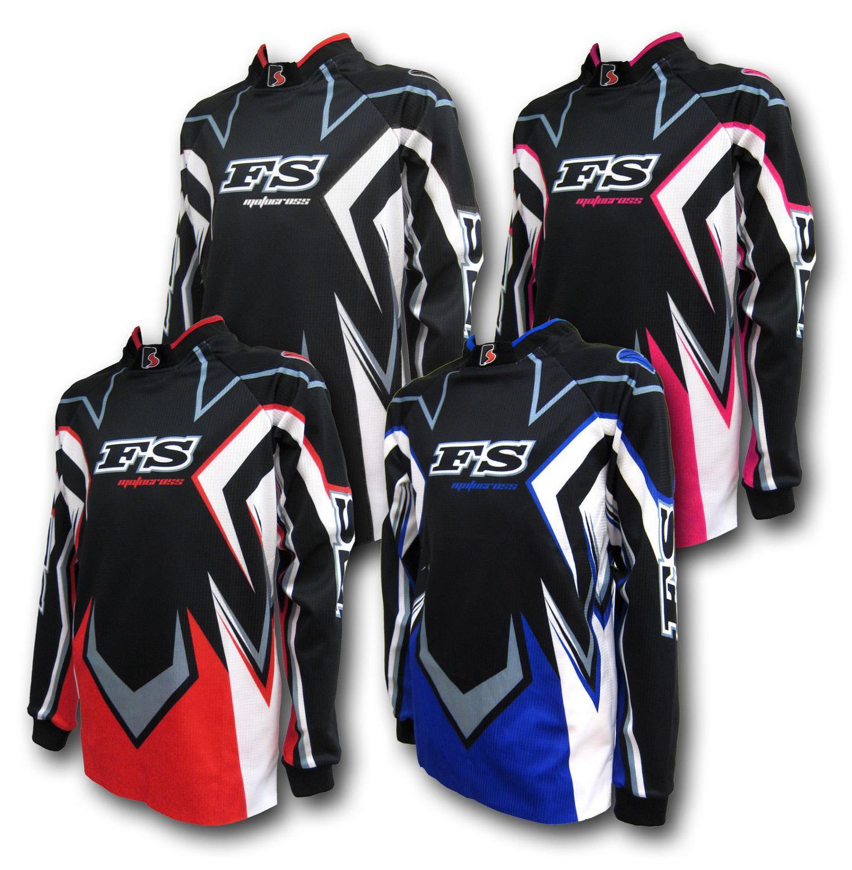 Prix pour 2017 Motocross jersey Dirt Bike Gear MX Motocross Youth Jersey ropa moto BMX Kid/Junior NOUVEAU vélo maillots