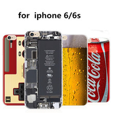 New Fashion Funny Phone Case Camouflage As Camera Coke bottle calculator Case Cover For iPhone 7 / 7 plus / 6s /6s plus / 5 / 5S