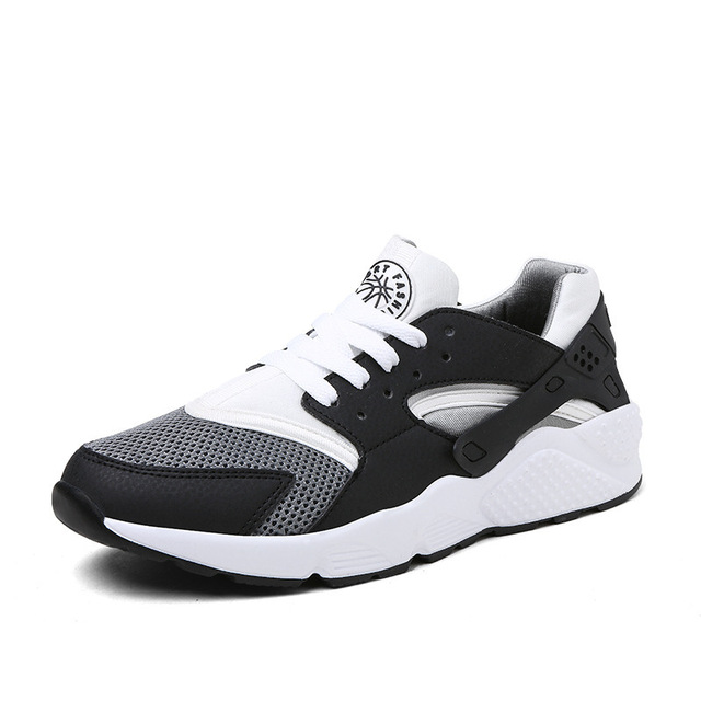 Men  Black PU  Leather Luxury Brand High Top  Casual Shoes, Unisex Spring/Autumn Flat Shoes outdoor shoes ML56