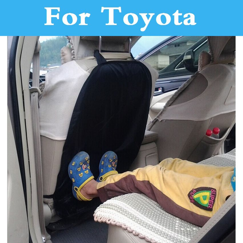 Seat Back Protector Children Kick Pad Antiabrasion Nursing Cover For Toyota Yaris Highlander Verossa Vios Vitz Will Cypha Windom