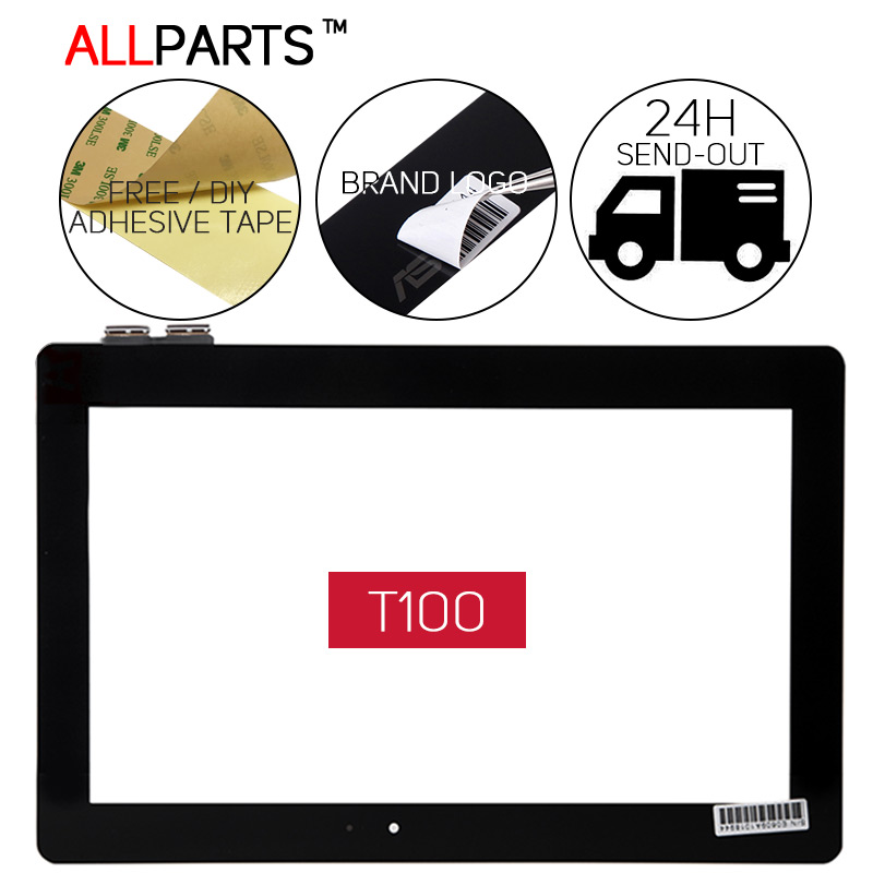 ORIGINAL TESTED 10.1 inch Tablet Touchscreen For ASUS Transformer Book T100 T100TA Touch Screen T100 chi T100TAM T100TAF T100T