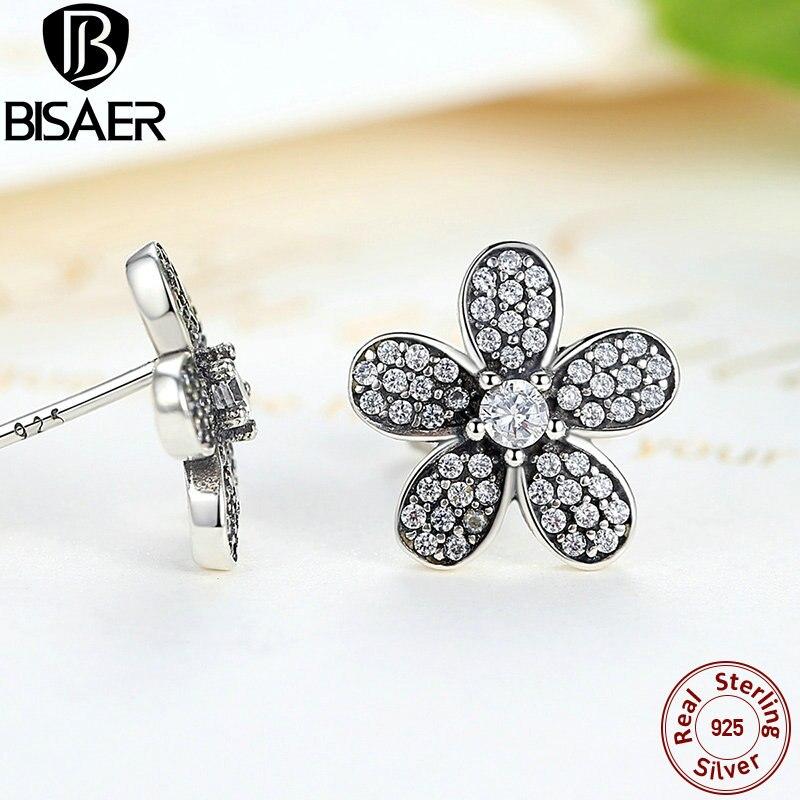 2019 Neue Marke Mode Silber Primrose Charme Armreif & Armband Für Frauen Original Diy Schwarz Blume Perlen Schmuck Geschenk Armbänder & Armreifen