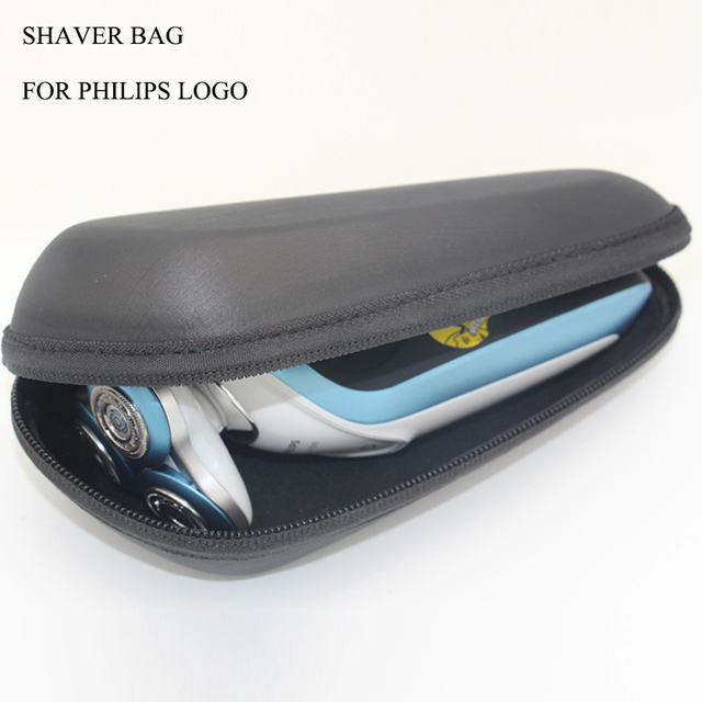 Electric Shaver Accessories Beard Trimmer Storage Bag Hair Travel For Philips Logo Shaving Machine