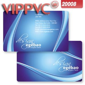 Pvc white plastic  card  a2008 card template-85.5X54mm -one-faced printing 0.38mm thickness