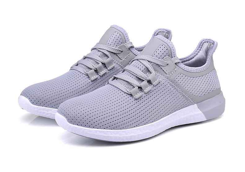 UNN Unisex Running Shoes Men New Style Breathable Mesh Sneakers Men Light Sport Outdoor Women Shoes Black Size EU 35-44 39