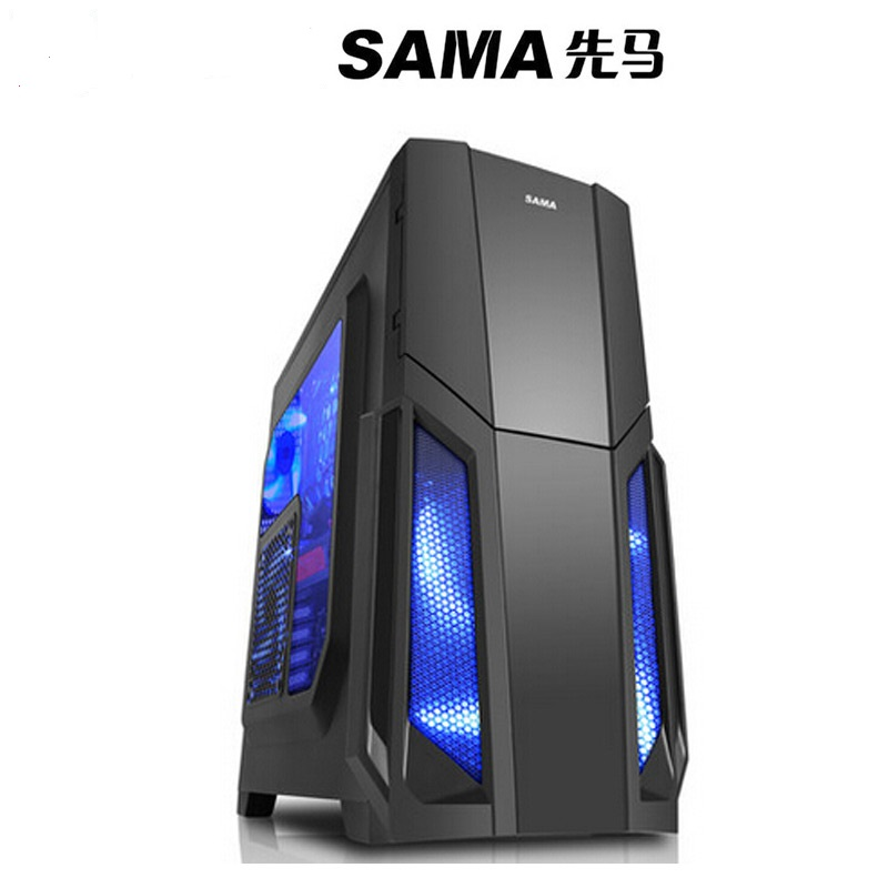 SAMA storm Desktop computer host chassis Game transparent large chassis Support the back line penguin ice breaking save the penguin great family toys gifts desktop game fun game who make the penguin fall off lose this game