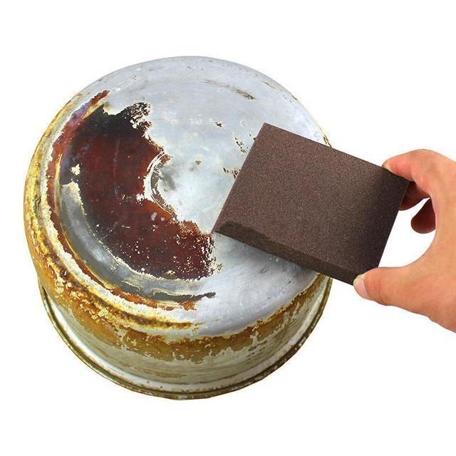Nano émeri magique Spong brosse pour cuisine nettoyage gomme Pot outils enlever la rouille gommage éponges ustensiles de cuisine fournitures propre