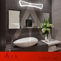 Arche lumière 52 cm bow tie 18 W Acrylique Lampe de Mur Salle De Bains LeD Miroir Lampe Salle De Bains Allée Salon Étanche Anti-brouillard AC 80-265 V