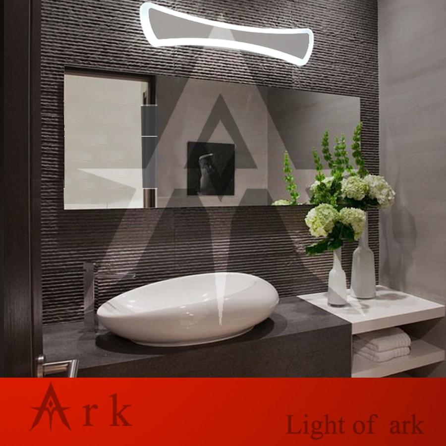Buy ark light 52cm bow tie 18W Acrylic Wall Lamp Bathroom LeD Mirror Lamp Bathroom Aisle Living Room Waterproof Anti-fog AC 80-265V