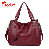 Tuladuo Brand Designer Bag High Quality Patchwork Female Handbags Luxury Handbag New Women Bags Designer Shoulder