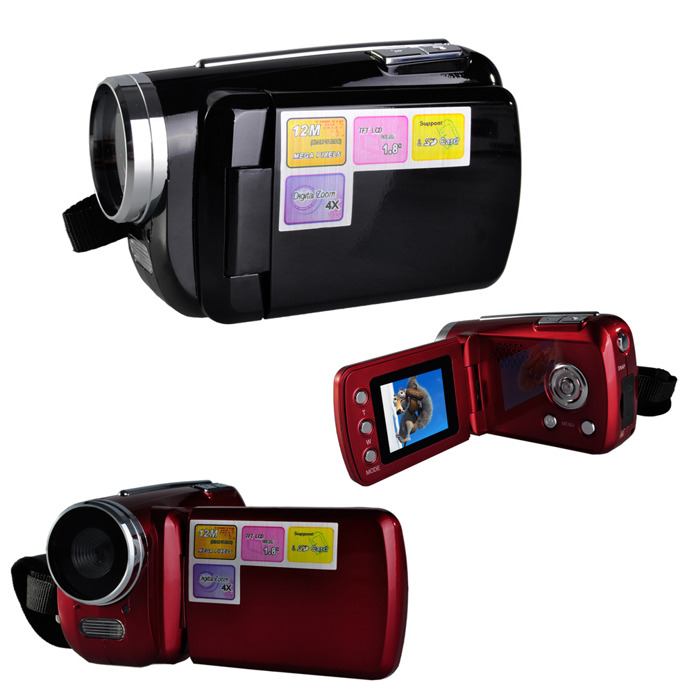 top quality mini dv 18 lcd screen mini digital video cameras 12mp 4 x