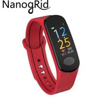 Smart Bracelet Men woman Watch Fitness Tracker Counter Sport Band Sleep Monitor Charm Silicone Wristband Bluetooth Smartband