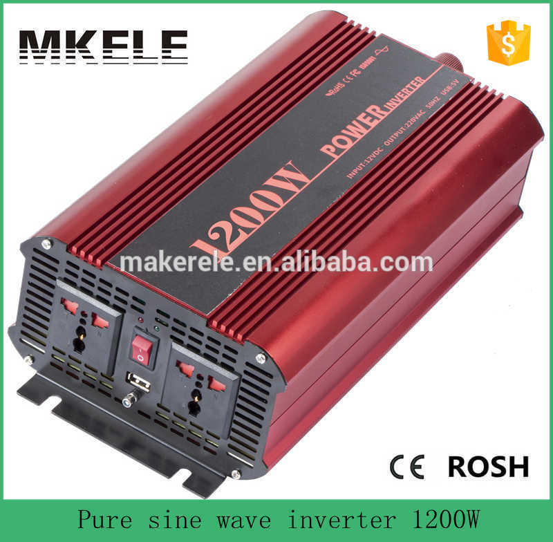 цена на MKP1200-482R 48v 220v 1200watt home use pure sine wave inverter,off grid power inverter without charger made in China