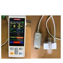 Handheld EtCo2 Monitor,EtCo2 Module for human use Mainstream Carbon dioxide monitor Measure breath Co2 Monitor,