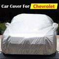 Cubierta del coche Anti-Ultravioleta del Sol Al Aire Libre de Nieve Lluvia Protector Resistente A Los Arañazos Cubierta Para Chevrolet Beretta Cavalier Impala Volt Tracker HHR