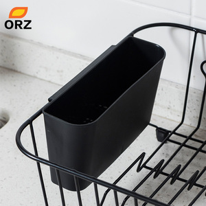 Image 4 - Orz袋水切り乾燥ラック金属キッチンシンクのためのプレートボウルカップ食器棚バスケット