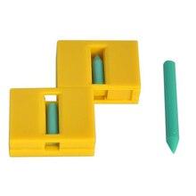 Złamany ołówek przywrócić magiczna sztuczka Zig Zag ołówek do powrotu magiczne sztuczki bliska sztuczka dla dzieci prezent 81488