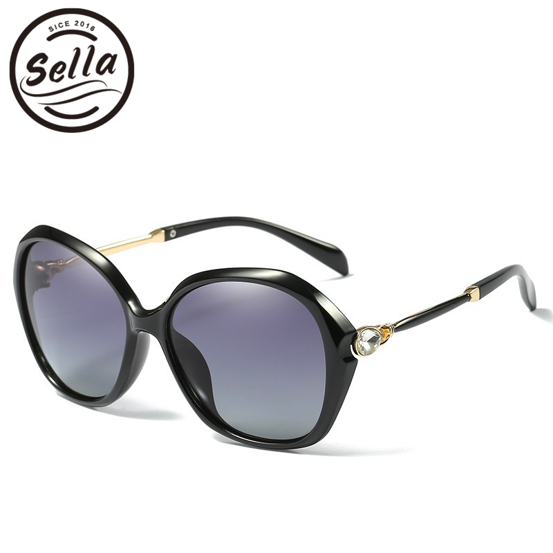 Sella New Arrival Polarized Women Sunglasses Fashion Ladies Colorful Mirror Lens Sun Glasses Summer Driving Eyewear