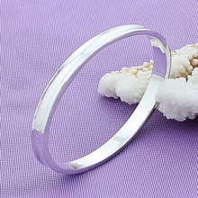 Sterling Silver Women Bracelet Bangles Fashion Charm High Quality 925 Silver Bracelet Bangles Women Luxury Jewelry lukeni top quality silver 925 bangles for women jewelry charm crystal pink flower girl bracelet lady party accessories fashion