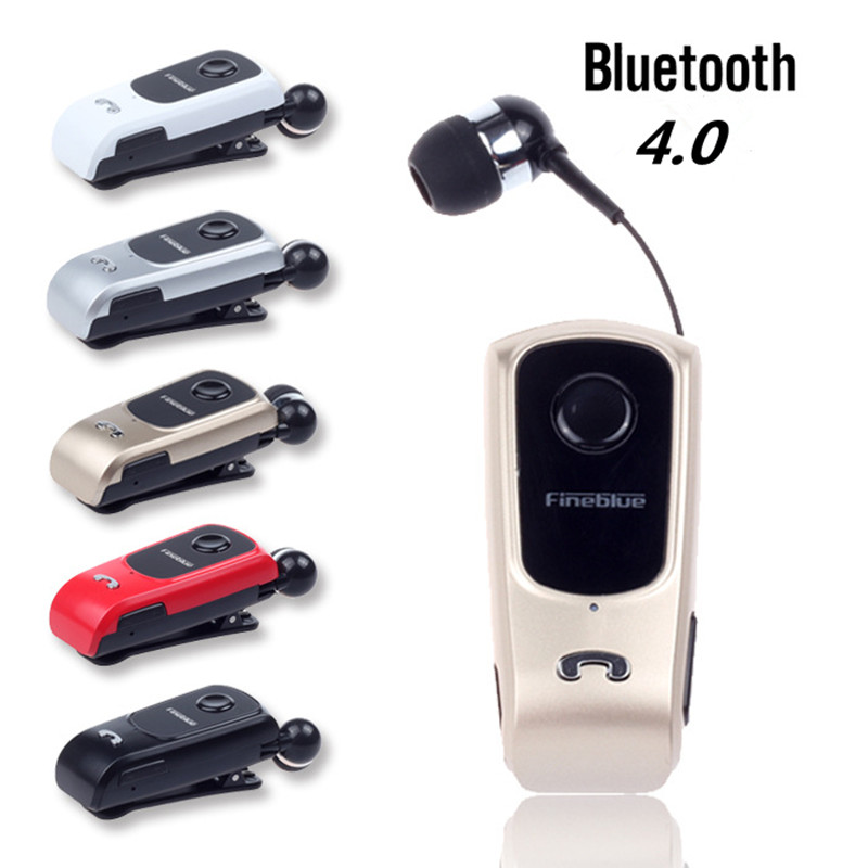 2018 Newest F920 Mini Wireless Auriculares Driver Bluetooth Headset Calls Remind Vibration Wear Clip Sports Running Earphone