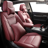 kokololee Custom Leather car seat cover For LEXUS IS IS200 IS250 IS300 IS350 LS LS350 LS500 LS460 LS600h Automobiles Seat Cover
