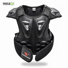 Children Body Armor Jacket Back Protector Support MTB Motocross Bike Clothing Protection Gears Kids Motorcycle Downhill Jacket(China)