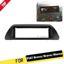 LONGSHI New 1Din Car Radio Fascia for Fiat Bravo 182 Brava 182 Marea 185 1995-2001 Dash frame panel Kit Installation Trim 1 din стоимость
