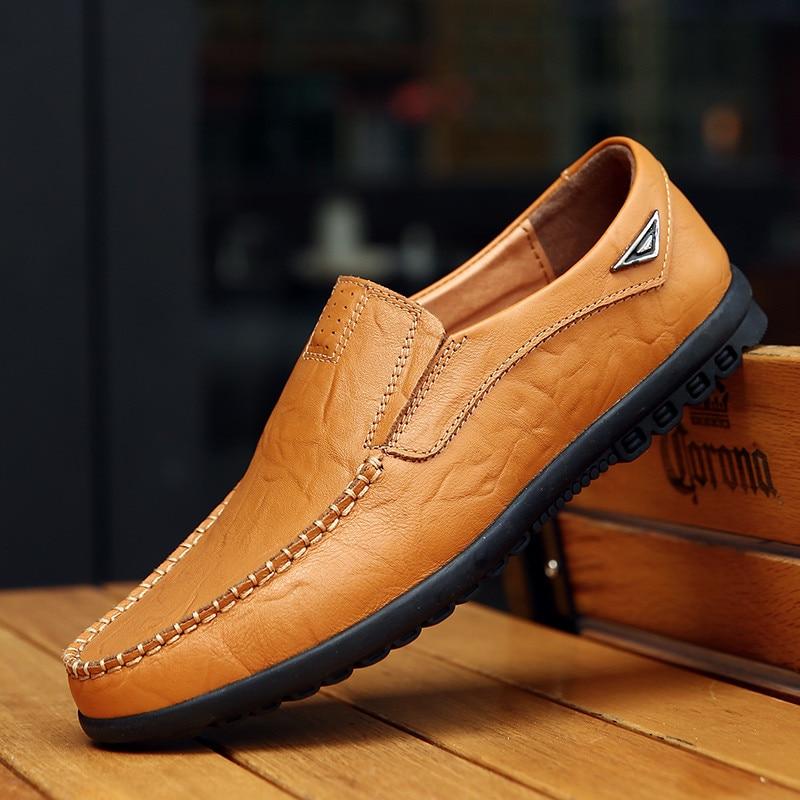 Couro Mocassins Barco Respirável Mens Condução 1 Homens Homem 2 Casuais Quente 3 Sapatos De Venda Genuíno Mocassim vS7RS0Aqr