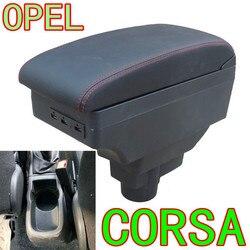 Dla Opel Corsa podłokietnik ze schowkiem Opel Corsa D uniwersalny główny schowek w podłokietniku w samochodzie akcesoria do modyfikacji pudełka|Podłokietniki|Samochody i motocykle -