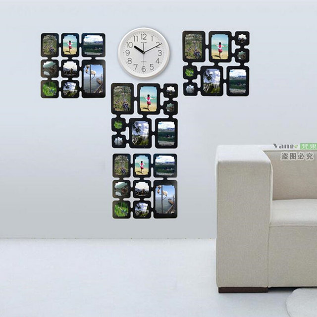 Online Shop Photo Frame Wall Stickers Combination Photo Frame ...