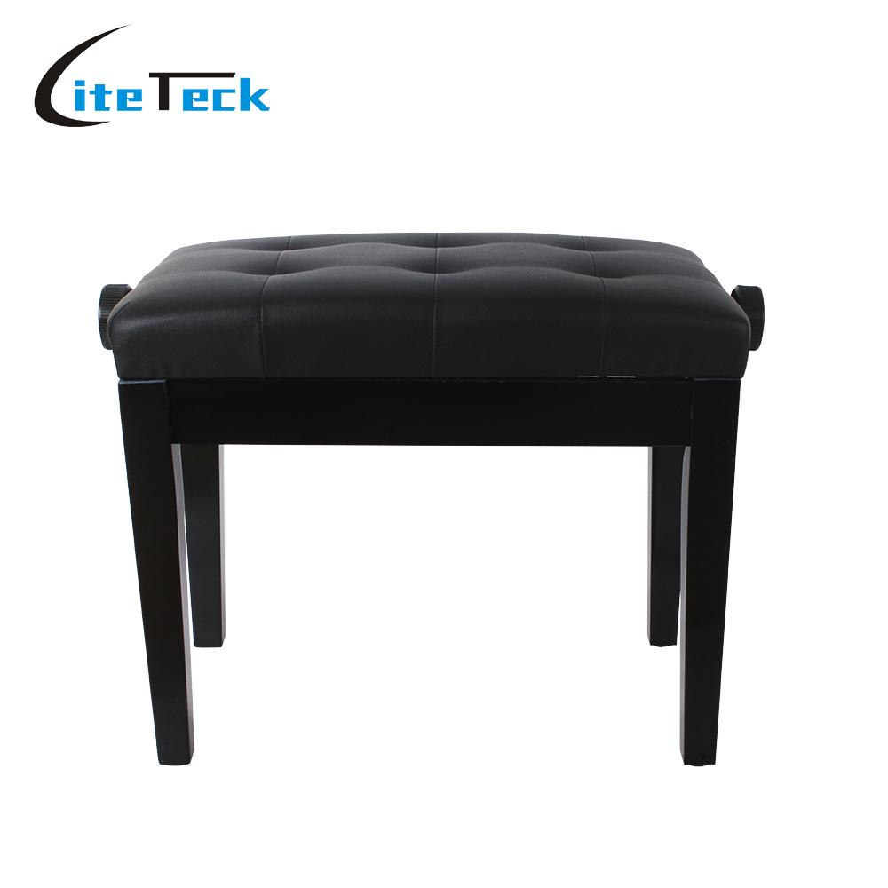 Modern piano stool - High Quality Piano Keyboard Bench Stool Adjustable Height Padded Leather Wood China