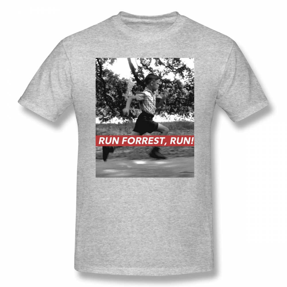8612b3231bc ... Forrest Gump T Shirt RUN FORREST, RUN T-Shirt Beach Awesome Tee Shirt  Short ...